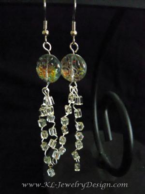 Crystal Stair Earrings